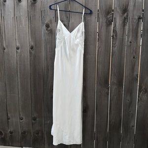 Long bridal Victoria Secret lingerie